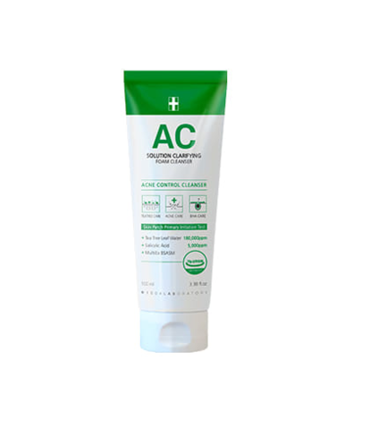 1004 Laboratory AC Solution Clarifying Foam Cleanser Пенка для умывания для проблемной кожи с лечебным действием