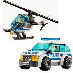 Сити 10424 Полицейский участок 890 дет, Конструктор