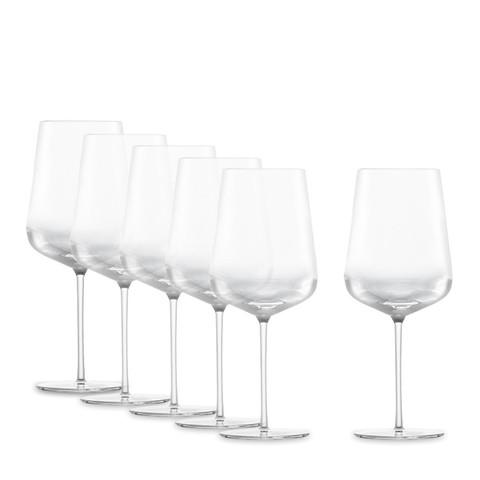 Набор бокалов для красного вина Bordeaux 742 мл, 6 шт, Vervino