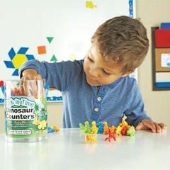 Набор фигурок Динозавры Learning Resources, пример игры