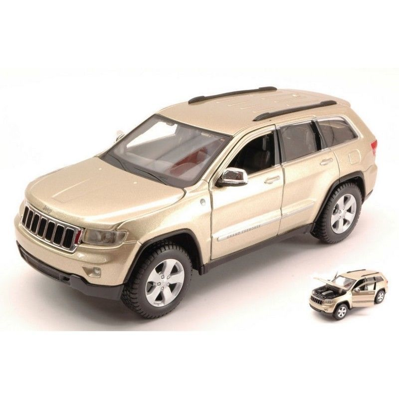 Коллекционная модель Jeep Grand Cherokee Laredo 2015 Beige
