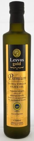 Оливковое масло первого холодного отжима Lesvos gold 500 мл стекло