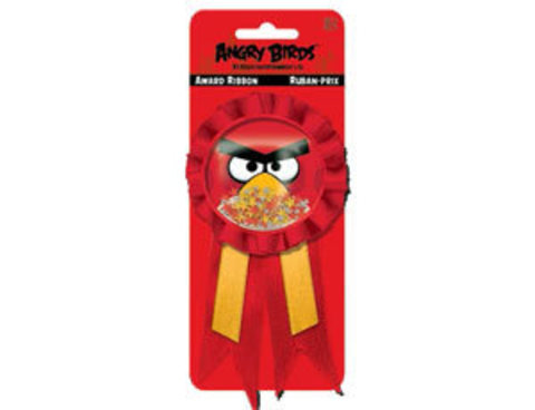 Значок Angry Birds с лентой/A
