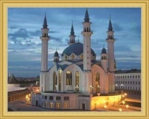 Алмазная Мозаика 40x50 Мечеть Кул-Шариф (арт. TCH8329 )