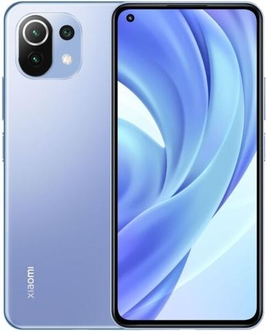 Мобильный телефон Xiaomi Mi 11 Lite 6/128Gb (NFC) Bubblegum Blue/Голубой EU