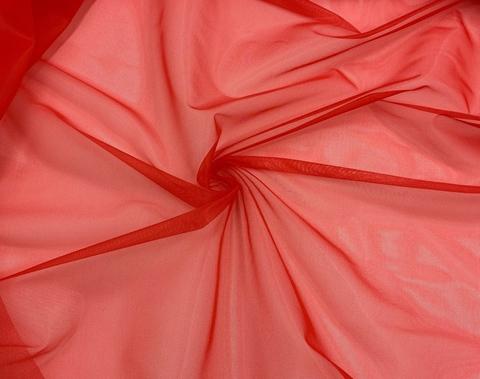 Сетка корсетная красная (цв. 100) Lauma (метражом)