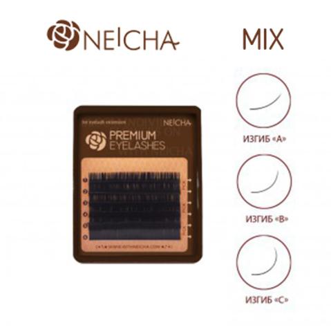 Ресницы NEICHA нейша 6 линий MIX