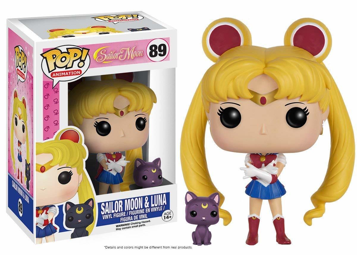 Фигурка Funko POP! Vinyl: Sailor Moon: Sailor Moon w/ Luna 6350