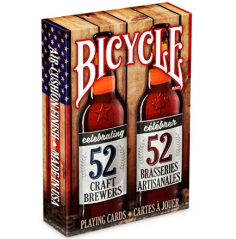 Карты Bicycle Craft Beer spirit of North America