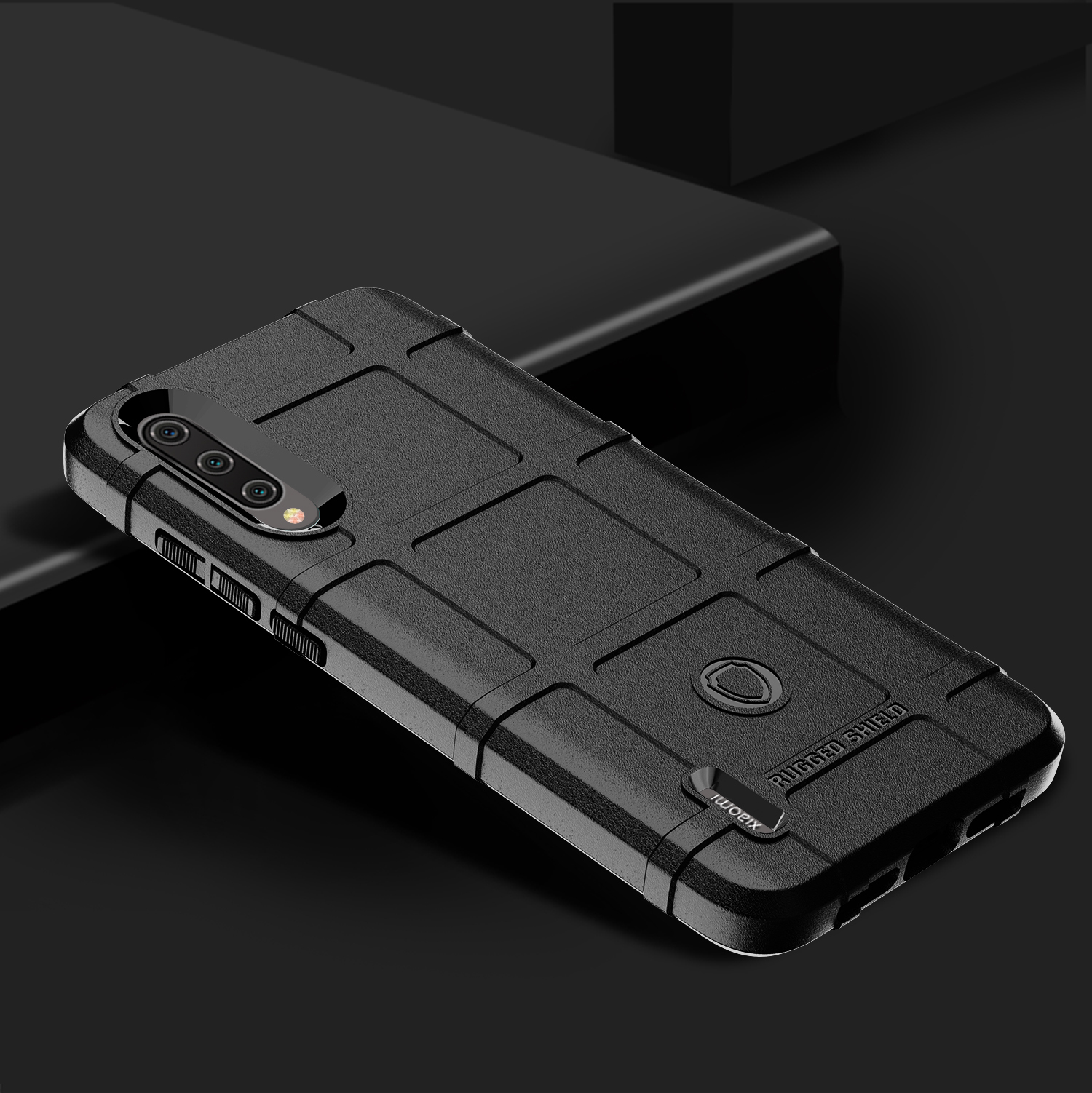 Чехол для Xiaomi Mi 9 Lite (A3 Lite, CC9) цвет Black (черный), серия Armor от Caseport