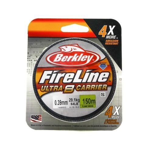 Плетеная леска Berkley Fireline Ultra 8 150M Светло-зеленая 0,39 FL Green