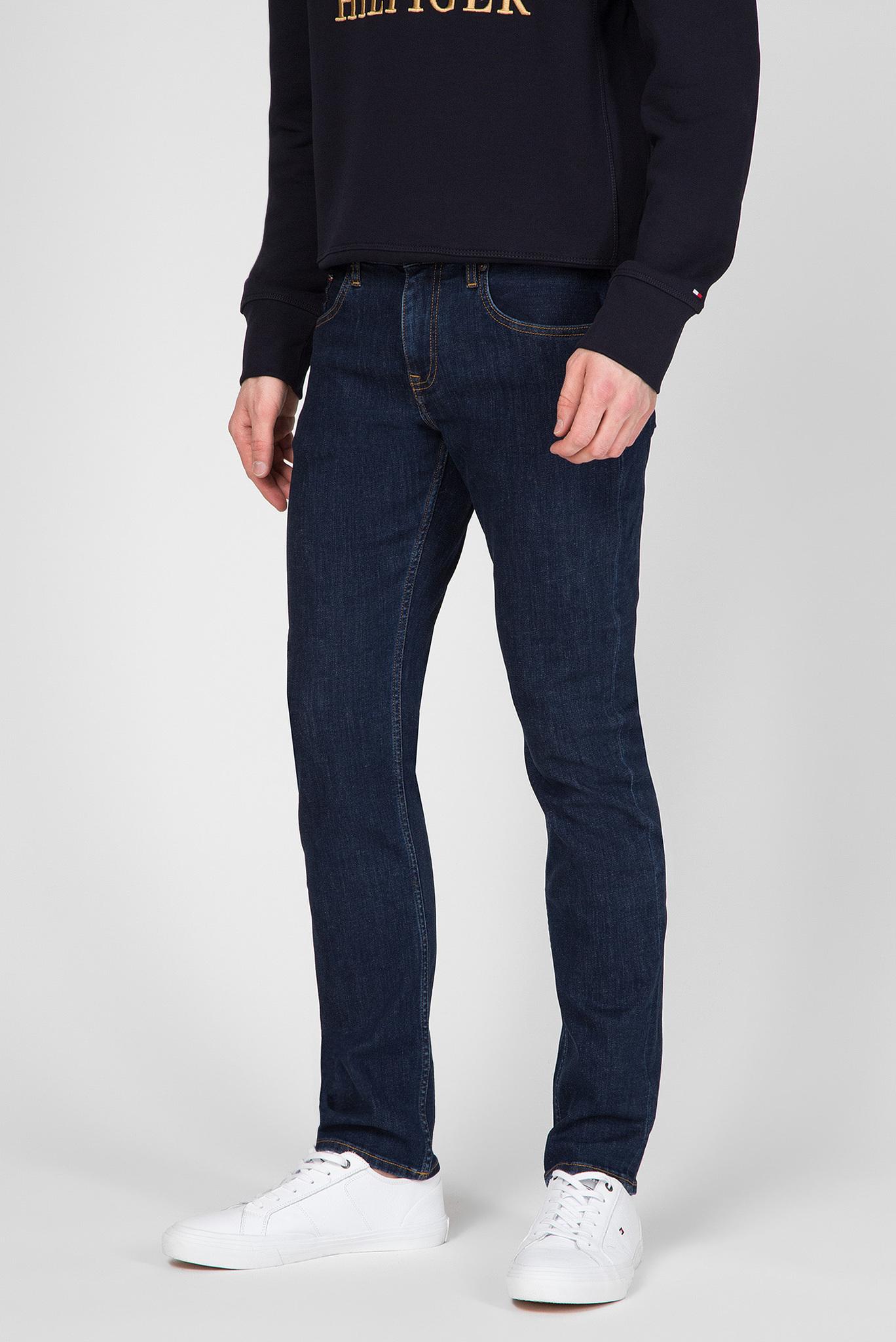 Мужские темно-синие джинсы STRAIGHT DENTON Tommy Hilfiger
