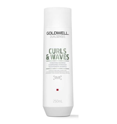 Шампунь увлажняющий для вьющихся волос Goldwell Dualsenses Curls & Waves Hydrating Shampoo, 250 мл