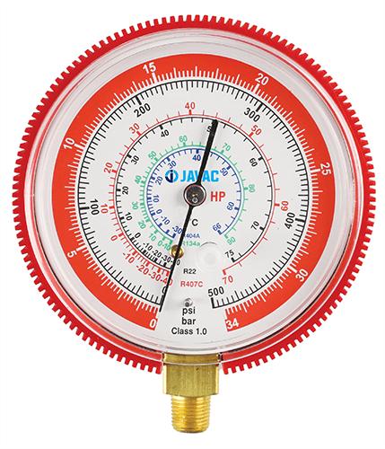 Манометр высокого давления R22, R134A, R407C, R404A