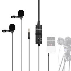 Микрофон Boya BY-M1DM черный