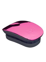 Ikoo Расческа-детанглер для сумочки спелая вишня Pocket Cherry Black Metallic