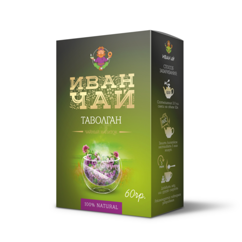 Сибирский Иван-чай «Таволган», 60 г