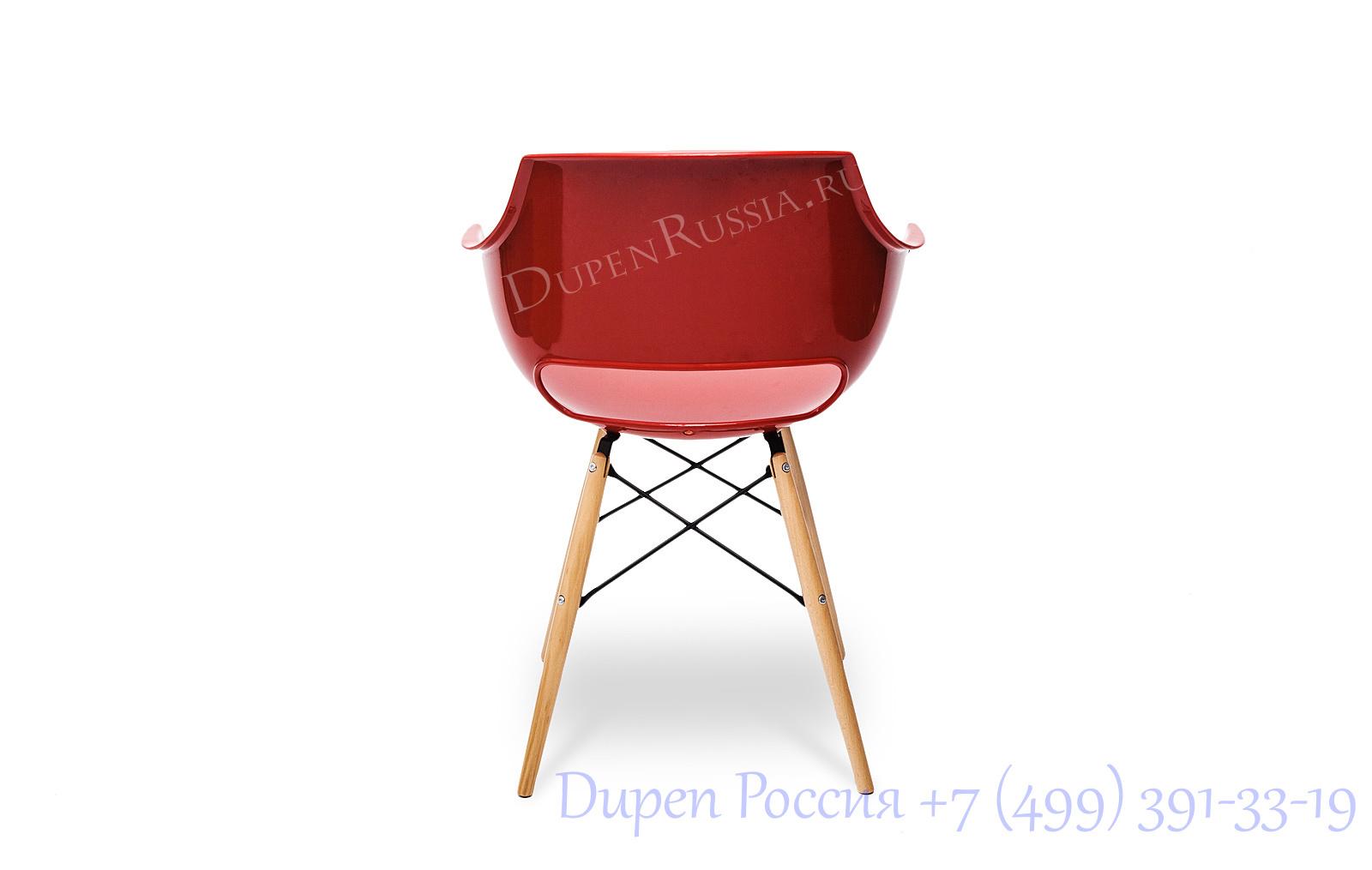 Стул Claudio Bellini PW-022 красный
