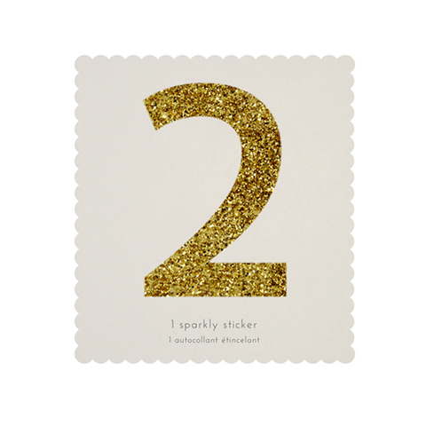 Стикер 2, мерцающее золото