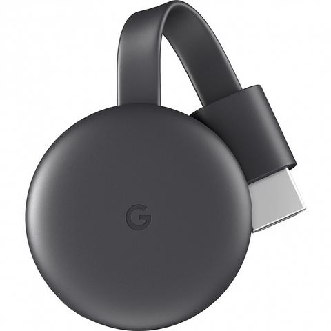 Медиаплеер Google Chromecast 2018 (Черный)