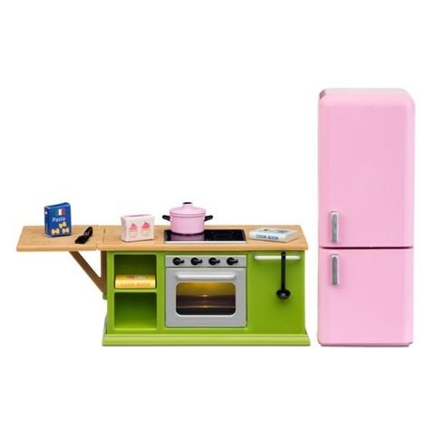 Мебель для домика Смоланд Кухонный набор с холодильником