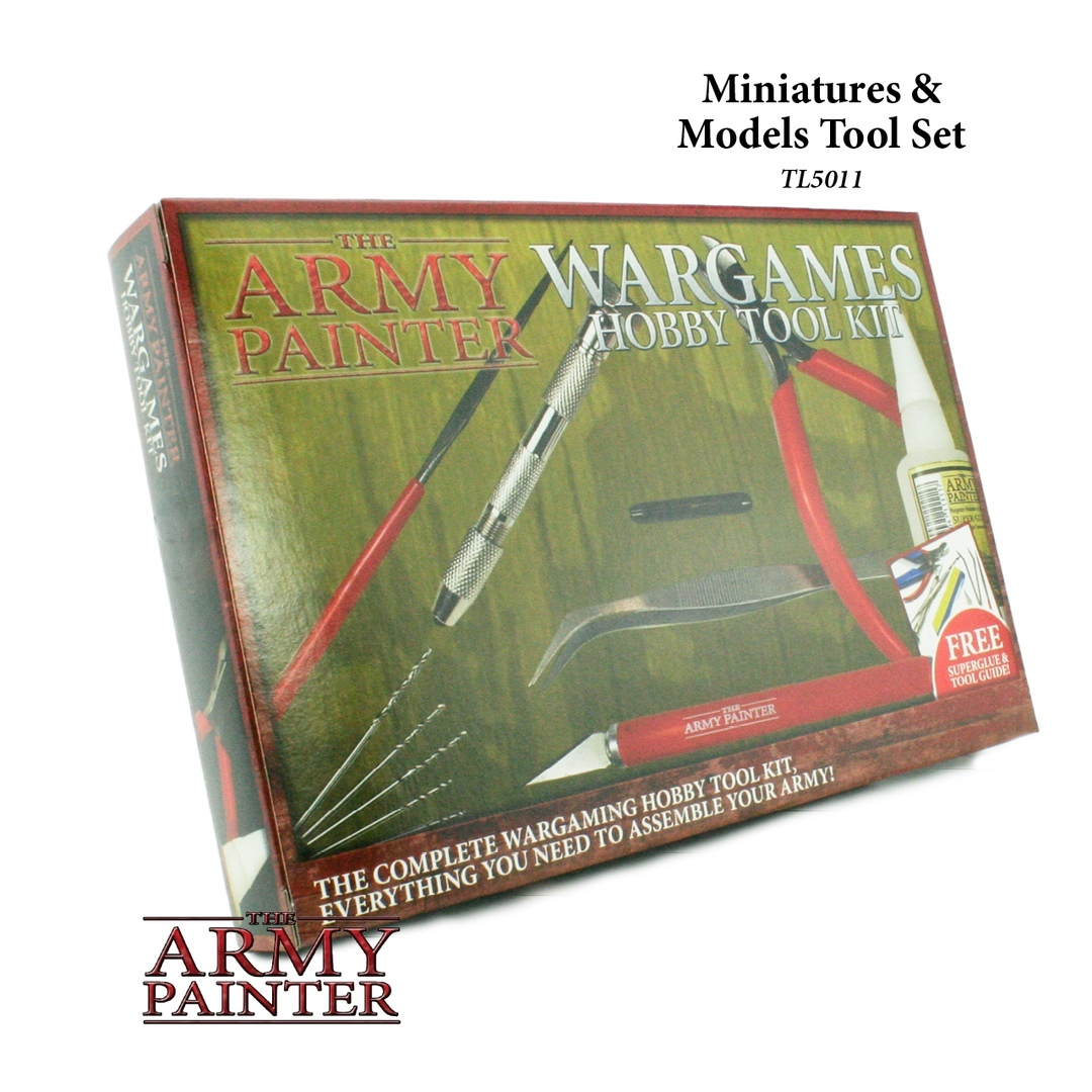Miniatures and model tool set