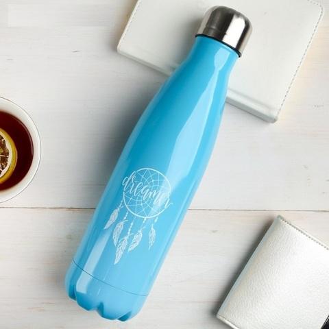 Бутылка- термос Dreamer, 500 мл, сохраняет тепло 8 часов