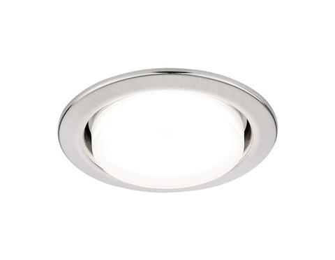 Встраиваемый точечный светильник G101 SS сатин серебро GX53