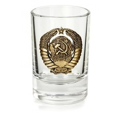 Набор рюмок «Герб СССР»  6 шт, фото 10
