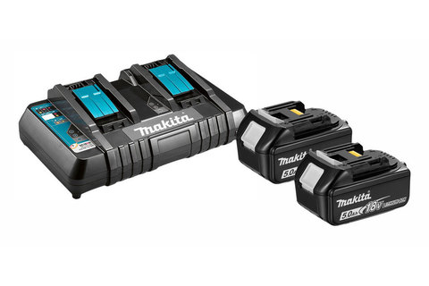 Аккумуляторы BL1850B и зарядное устройство DC18RD (191L75-3)