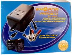 ЗУ Энергия ЕН-603 SLA для свинц. акк., 6V /12V, 1500mAh