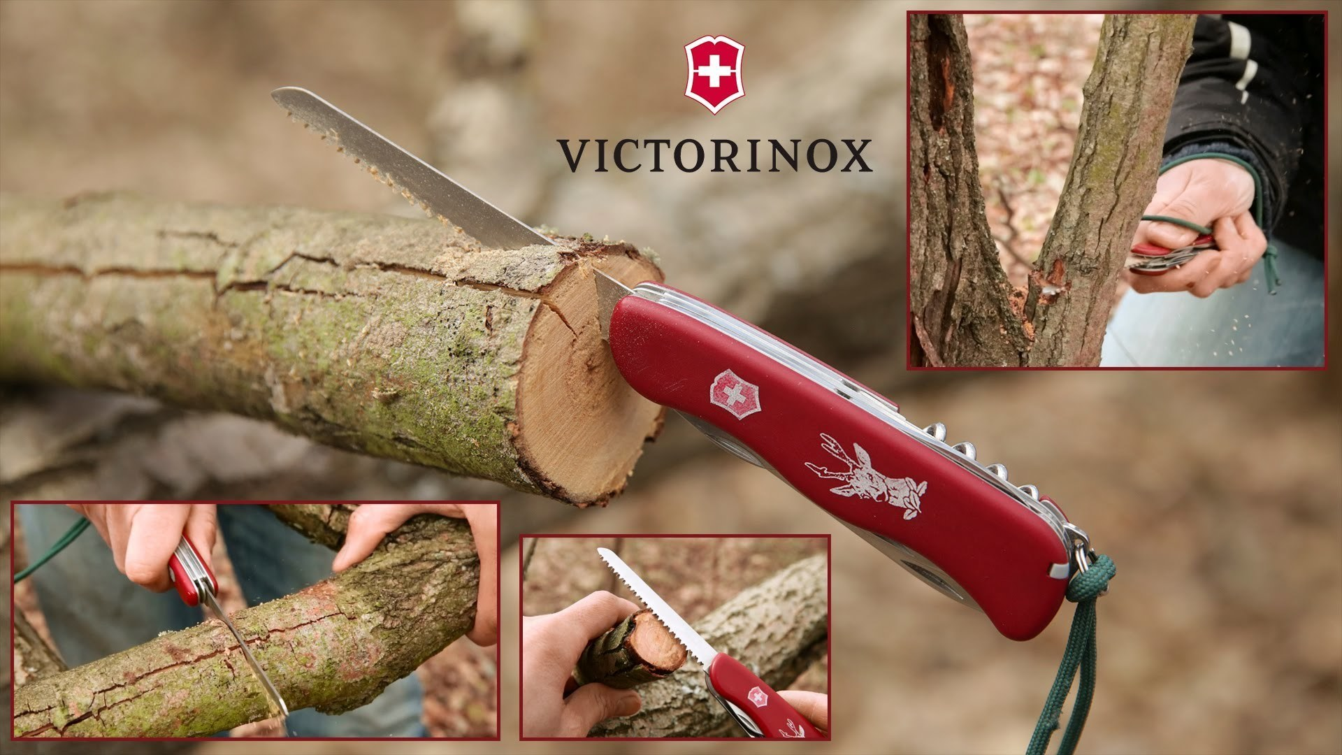 Складной швейцарский нож Victorinox Hunter 2017 (0.8573) 111 мм., 12 функций