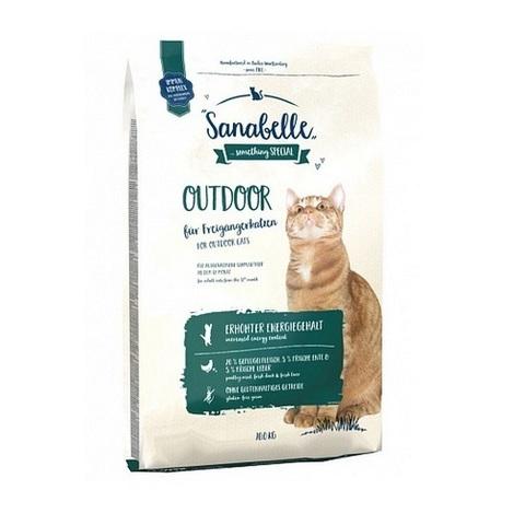 10 кг. BOSCH SANABELLE NEW Сухой корм для взрослых активных кошек Outdoor