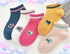 Носки для девочек (5 пар) арт. СВ8000-14 (р. 1-3 )