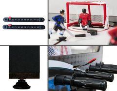 Хоккей «Alaska» с механическими счетами (101 x 73.6 x 80 см, серо-синий)