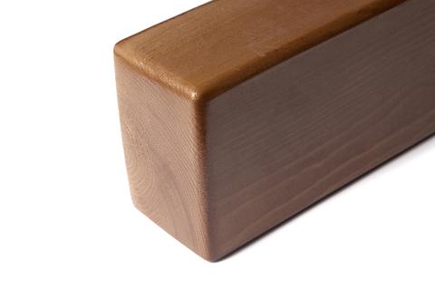 Кирпич для йоги премиум лакированный 23*11*8 см