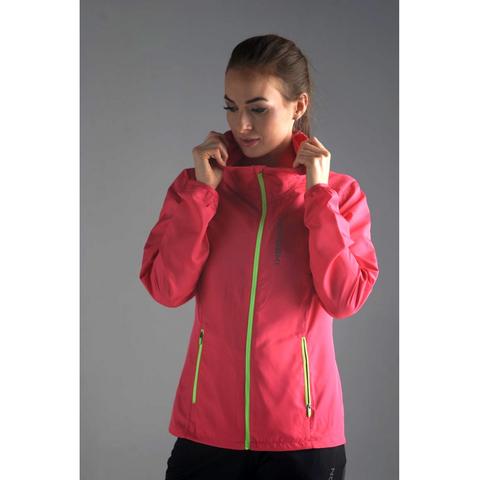 Ветровка для бега Nordski Run Pink/Yellow W женская