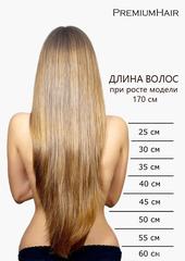Натуральные волосы на заколках тон 12 русый