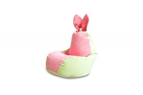 Бескаркасное кресло мешок Зайка