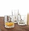 SCULPTURE - Набор стаканов 2 шт. низких 365 мл хрусталь
