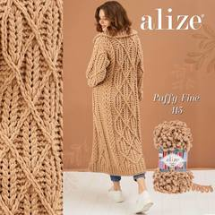 Пряжа Alize Puffy Fine цвет 415