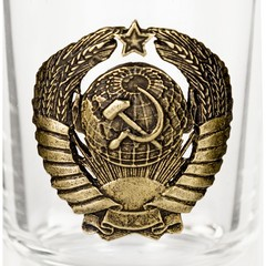 Набор рюмок «Герб СССР»  6 шт, фото 11