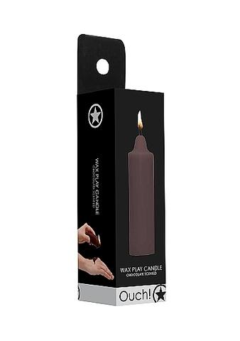Восковая BDSM-свеча  Wax Play с ароматом шоколада