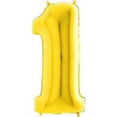 Цифра 1 (Золотая)