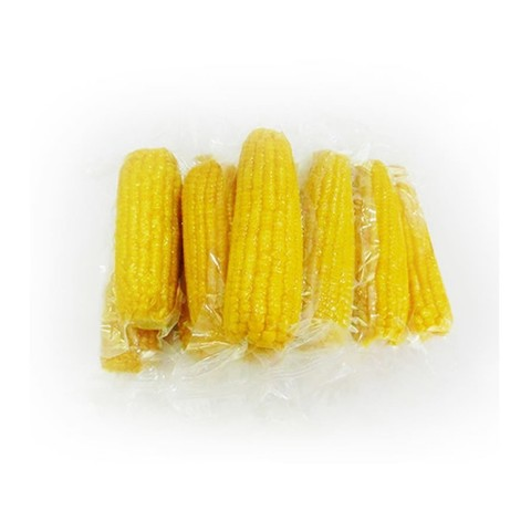 Кукуруза варёная в вакуумной упаковке