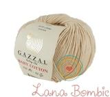 Пряжа Gazzal Baby Cotton 3445 светло-бежевый