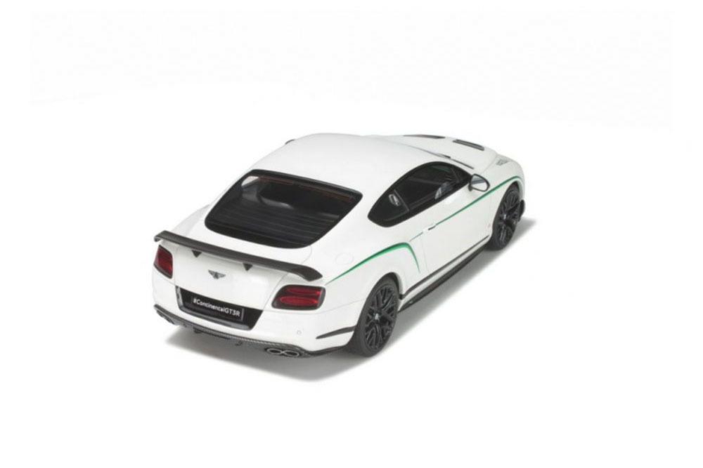 Коллекционная модель BENTLEY CONTINENTAL GT3R 2015 WHITE