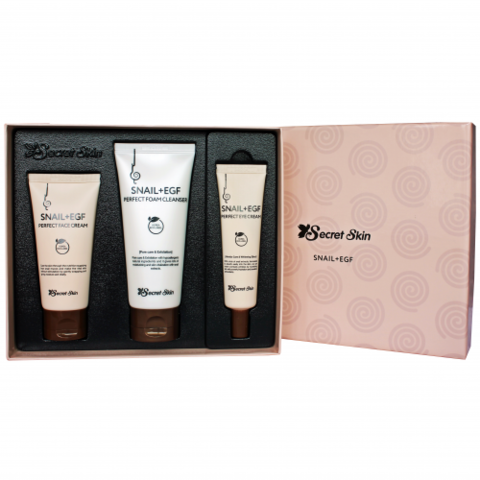 Уходовый набор SecretSkin Snail +EGF Perfect 3 Set