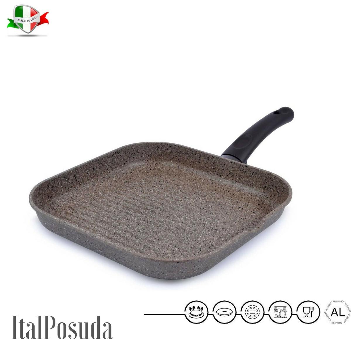 Сковорода Гриль TIMA Art Granit, 28х28 см