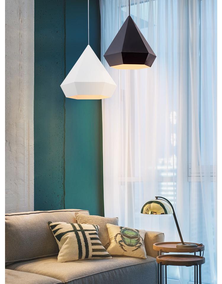 Подвесной светильник копия Diamond by NEO/CRAFT (черный)